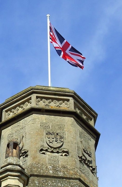 Fly your country or organisation flag from the tower