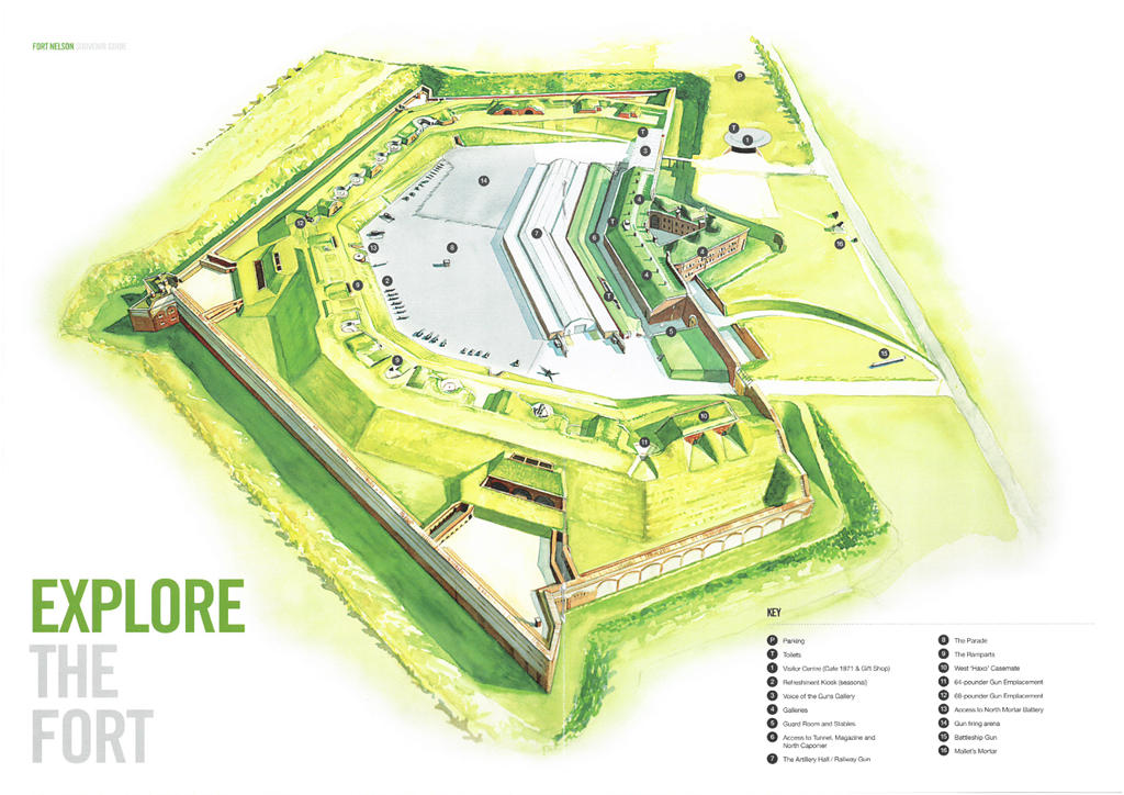 Fort Nelson Map