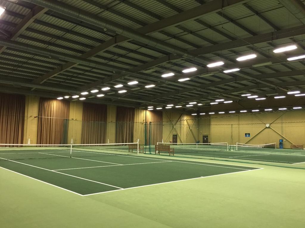 Stoke Park Indoor Tennis Courts