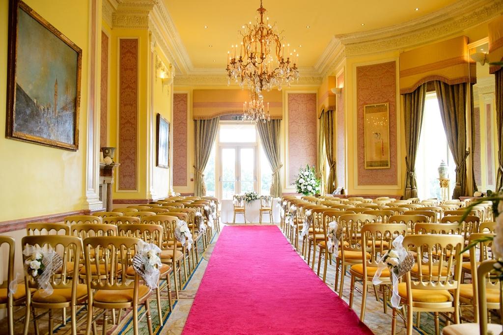 The Ballroom- Civil Ceremony set up