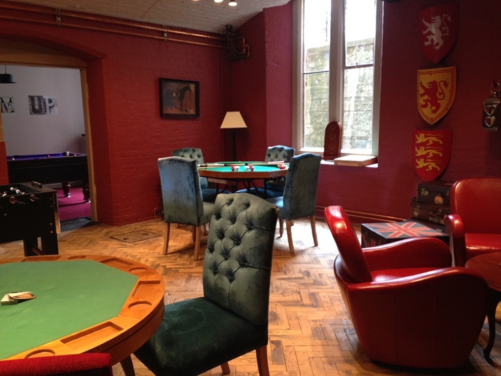 The Games Room at Stanbrook Abbey