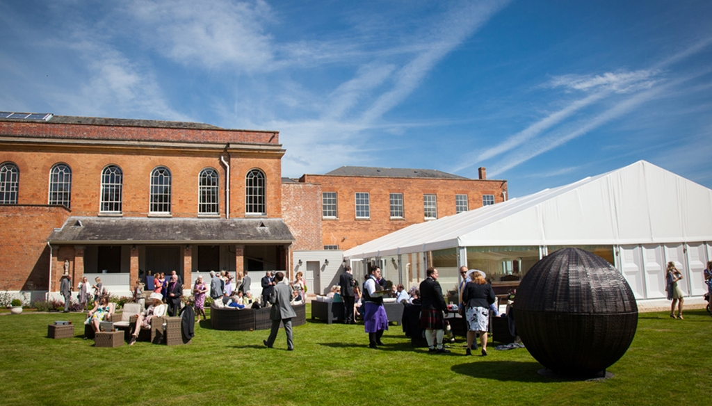 Garden Pavilion at Stanbrook Abbey