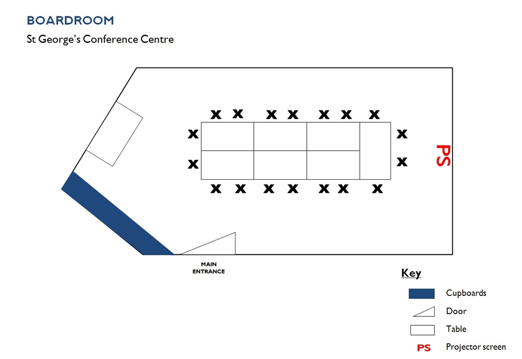 Boardroom - Floorplan