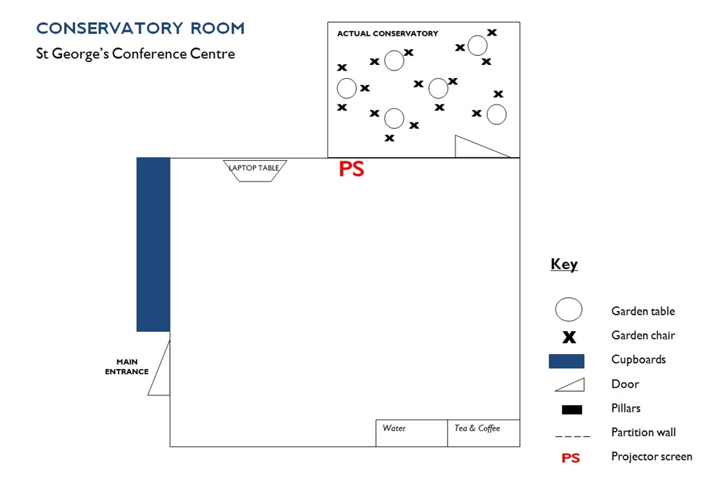 Conservatory Room - Floorplan