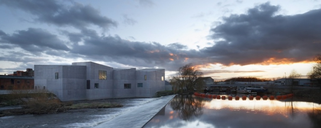 Dramatical setting - The Hepworth Wakefield