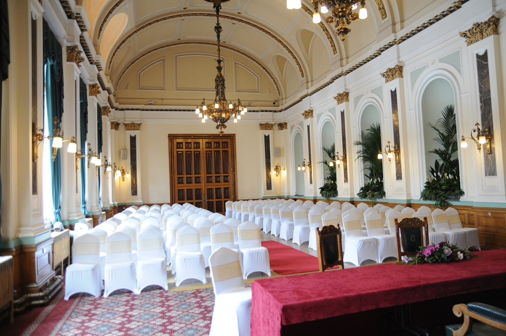 Drawing Room (set-up for civil wedding)