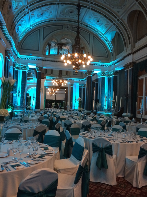 Evening Awards Dinner with Lighting