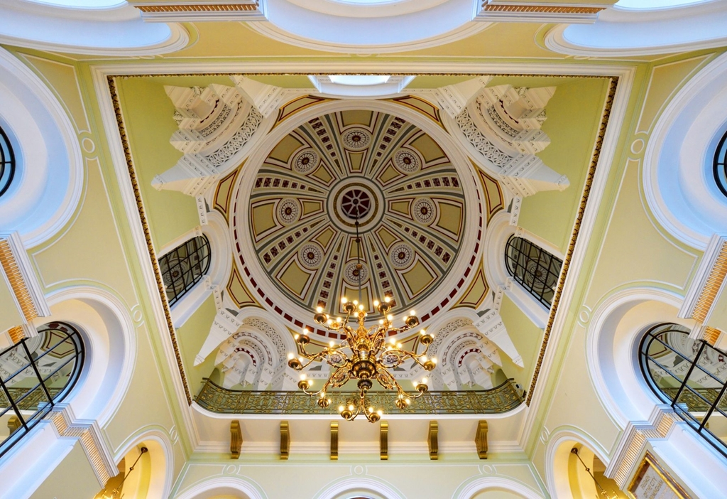 Main Staircase Dome