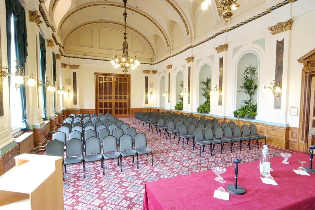 Drawing Room end of Banqueting Suite Theatre Style