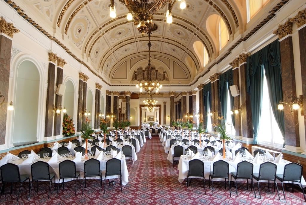 Banqueting Suite - Herringbone Layout