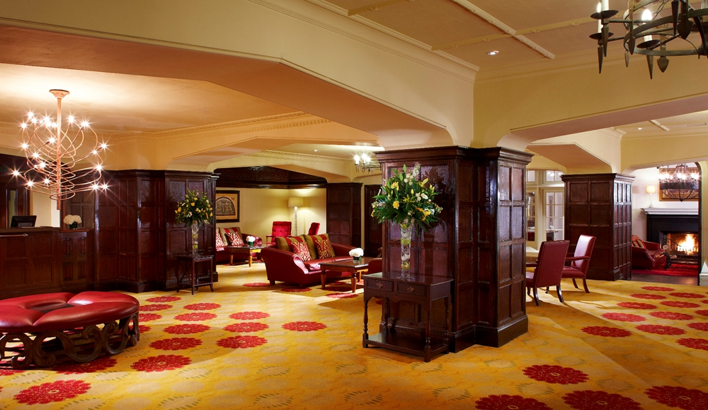 Hotel Reception/Lobby Area
