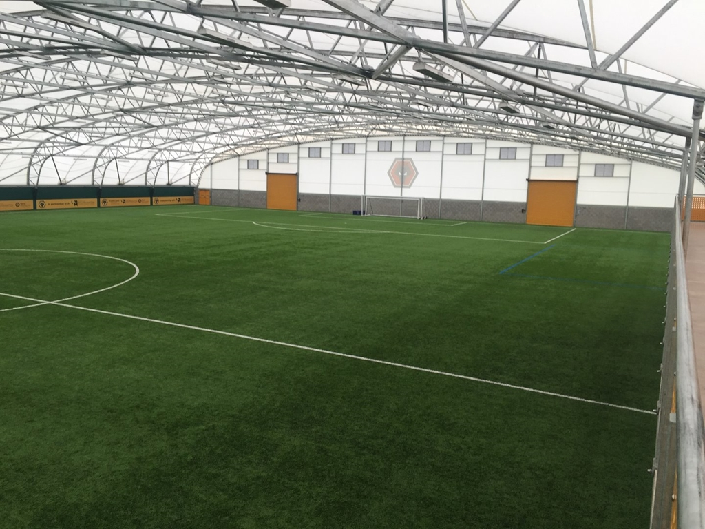 Indoor Pitch at Training Ground