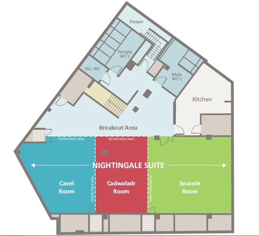 Lower ground floor - Nightingale suite