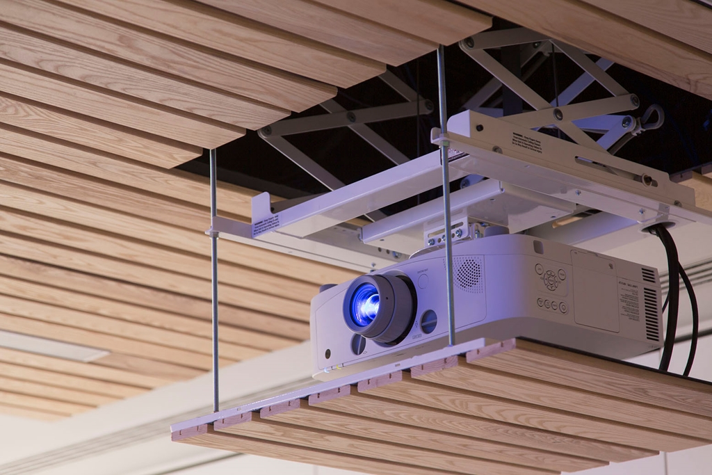 Projector in every room
