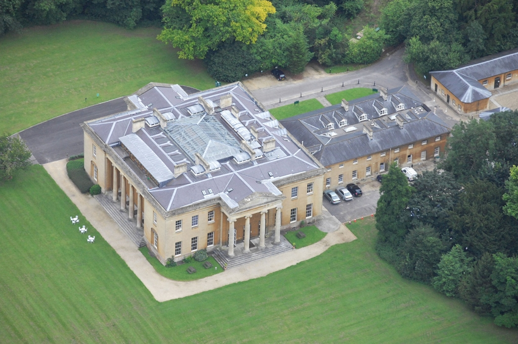Aerial view of Leigh Court