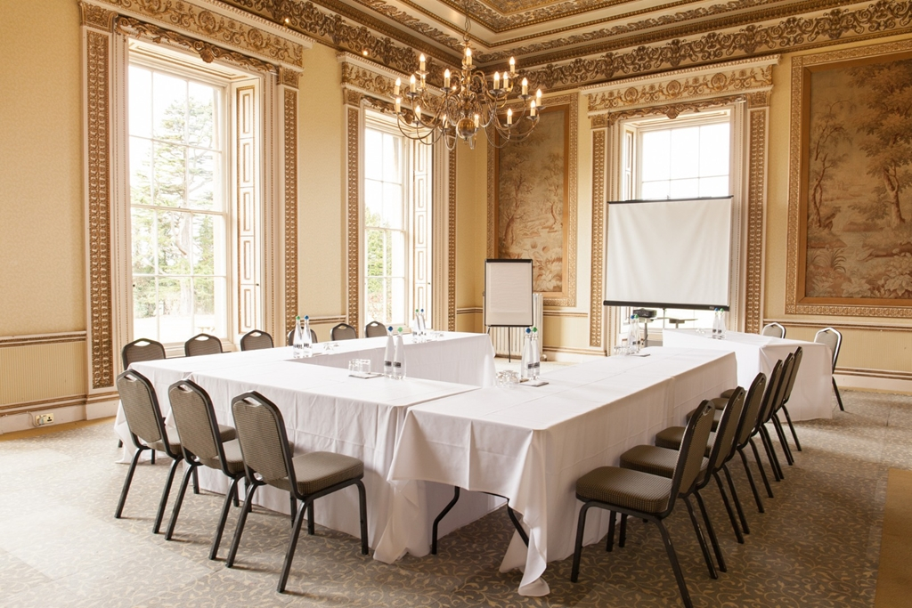 The Tapestry room is a stunning space to inspire your delegates.