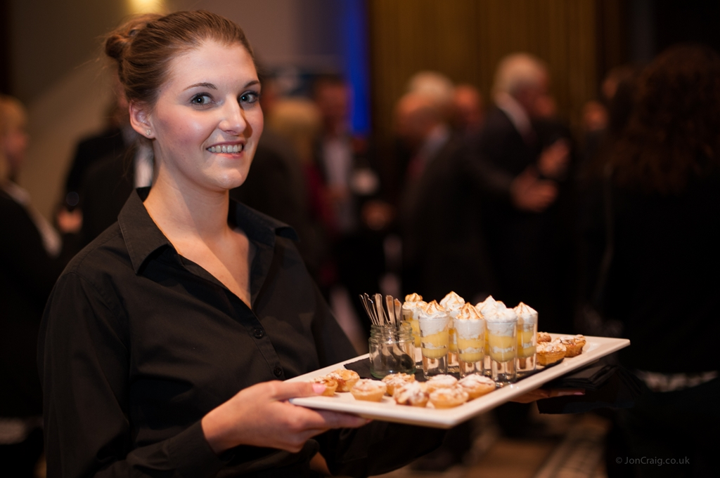 Award winning catering at Leigh Court