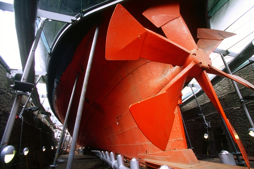 SS Great Britain's propella