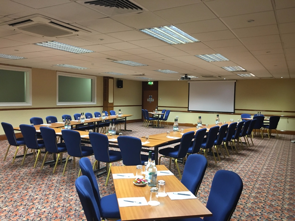 Windsor Suite-  Square room without pillars Ideal for small exhibitions, boardroom and
