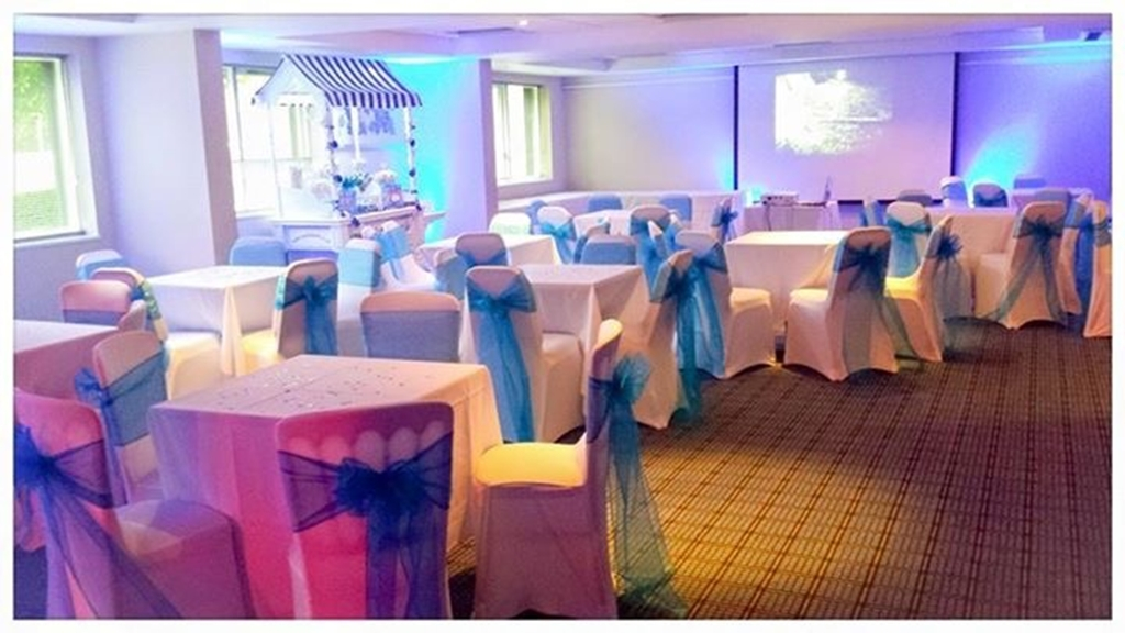 Drinks Reception with chair covers