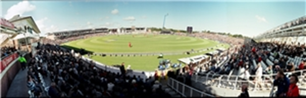 Panoramic view of Durham County Cricket Club