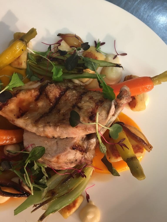 Brasserie mouth watering dishes