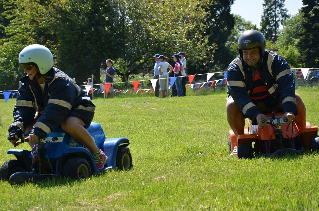 Field for motorised activities