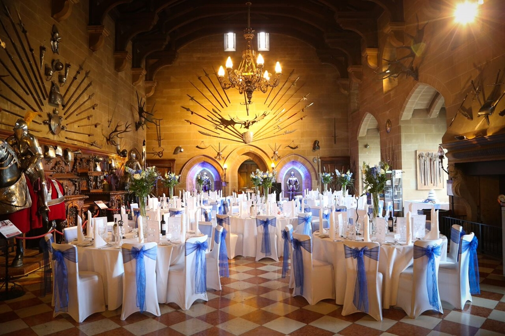 Great Hall Wedding Breakfast