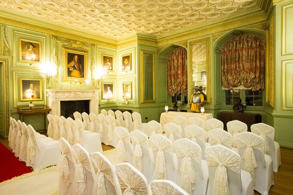 Ceremony in the Green Drawing Room