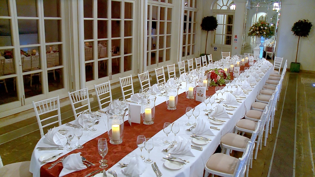 Orangery set for Private Dining