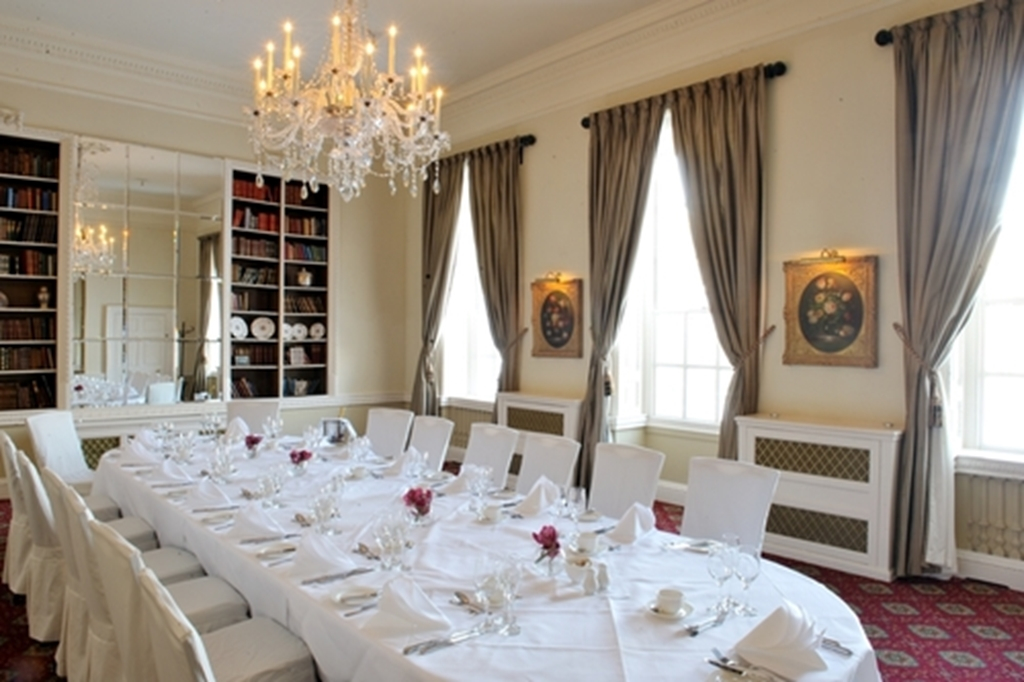 Library set for Private Dining