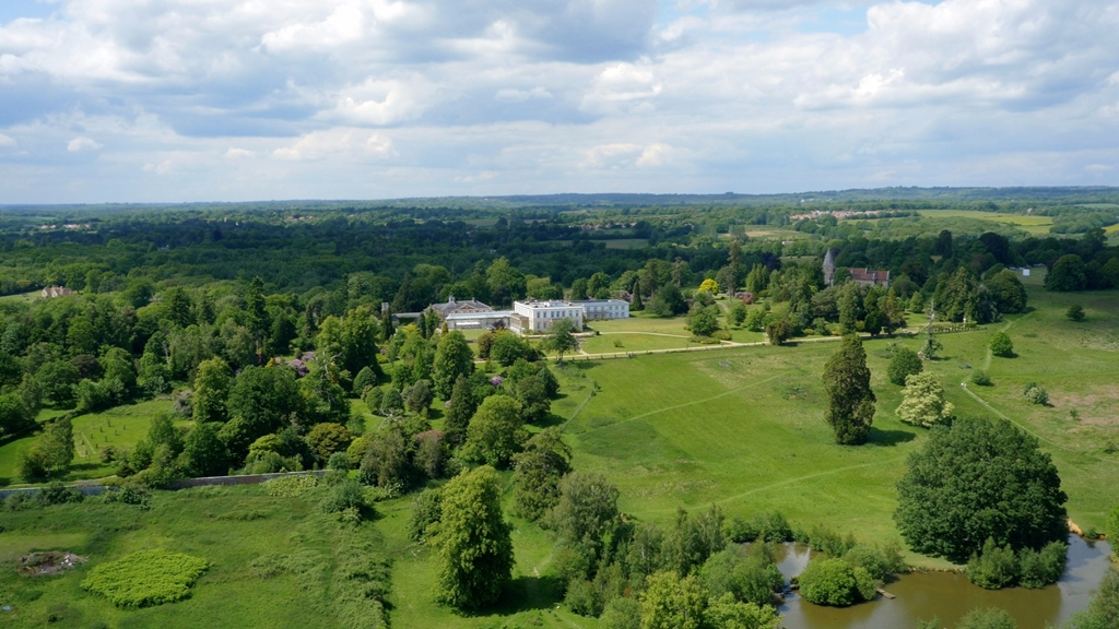 Buxted Park, set in 312 acres of private parkland