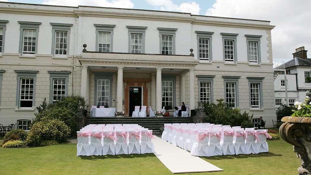 Open air wedding ceremony.