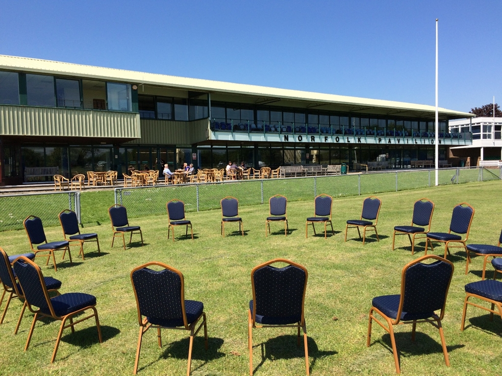 Break out space in sunshine at South of England Event Centre
