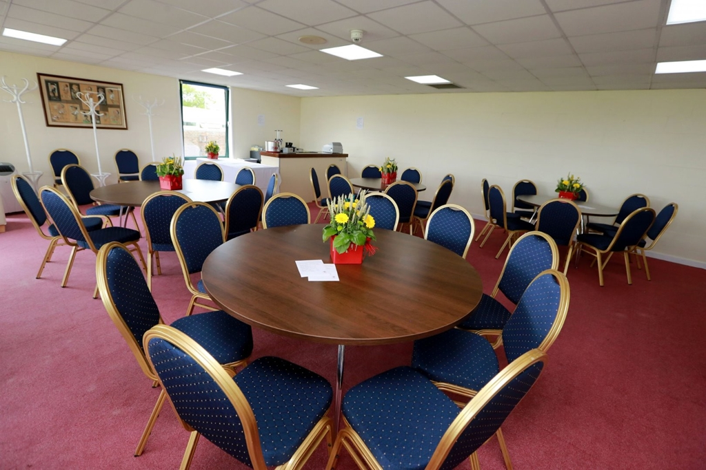 Upper Queen's Room banqueting style