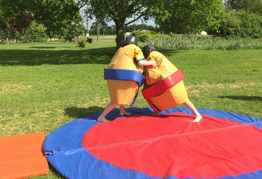 Sumo Challenge at South of England Event Centre