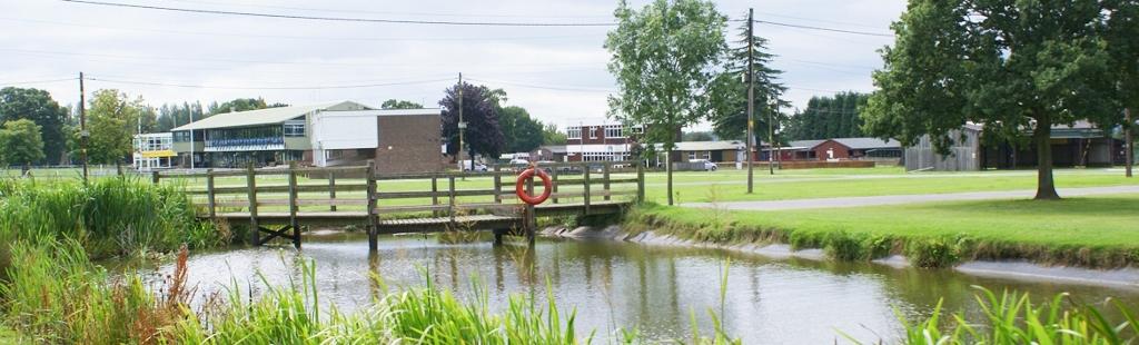 Norfolk Pavilion approach