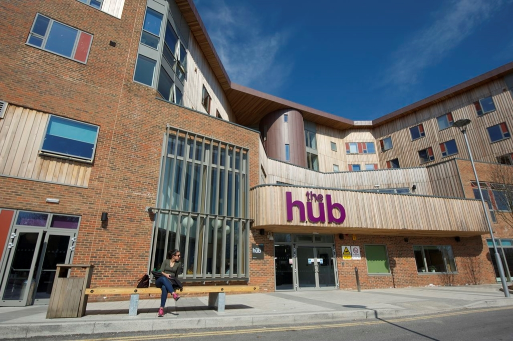 The Hub Exterior