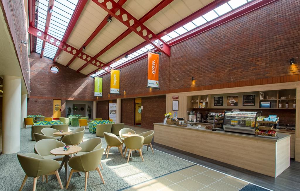 Costa Coffee and Atrium Lounge