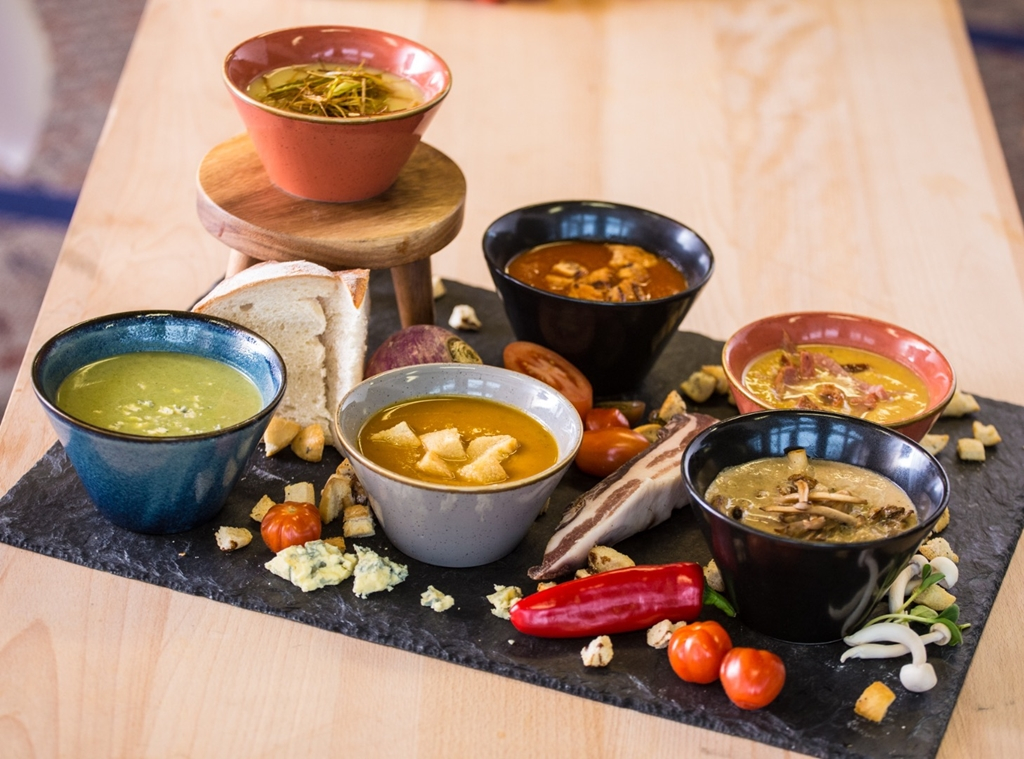 Soups...