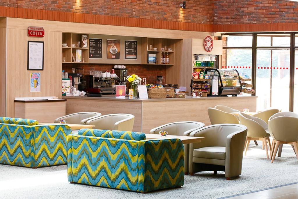 Atrium Lounge and Costa Coffee