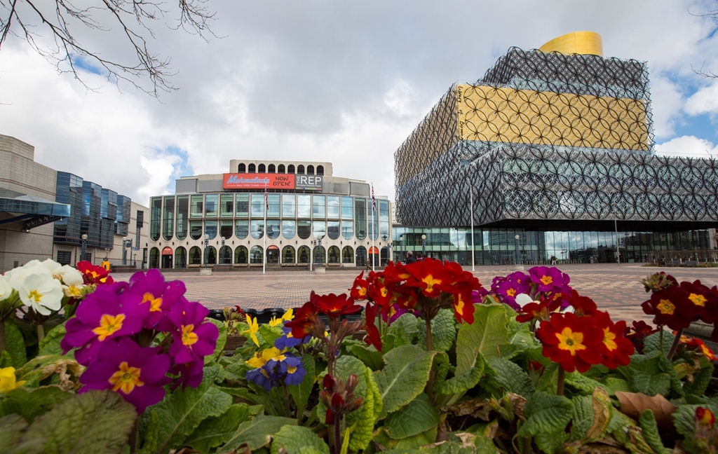 Unique Venues Birmingham (The Birmingham REP & The Library of Birmingham)