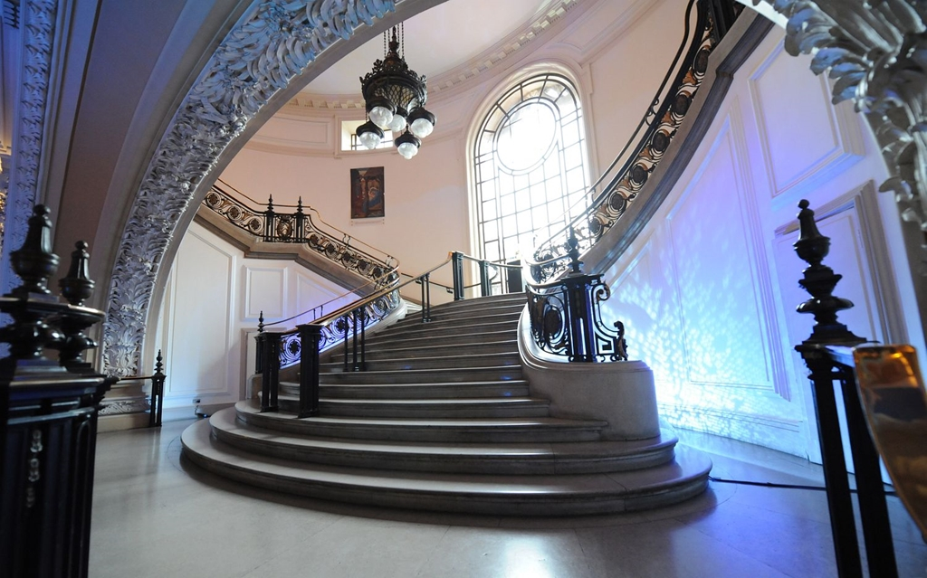 CHW - lower staircase