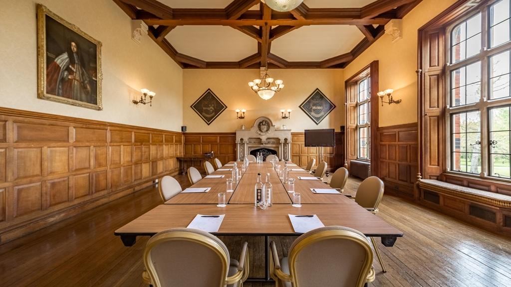 The Oak Room - Boardroom style