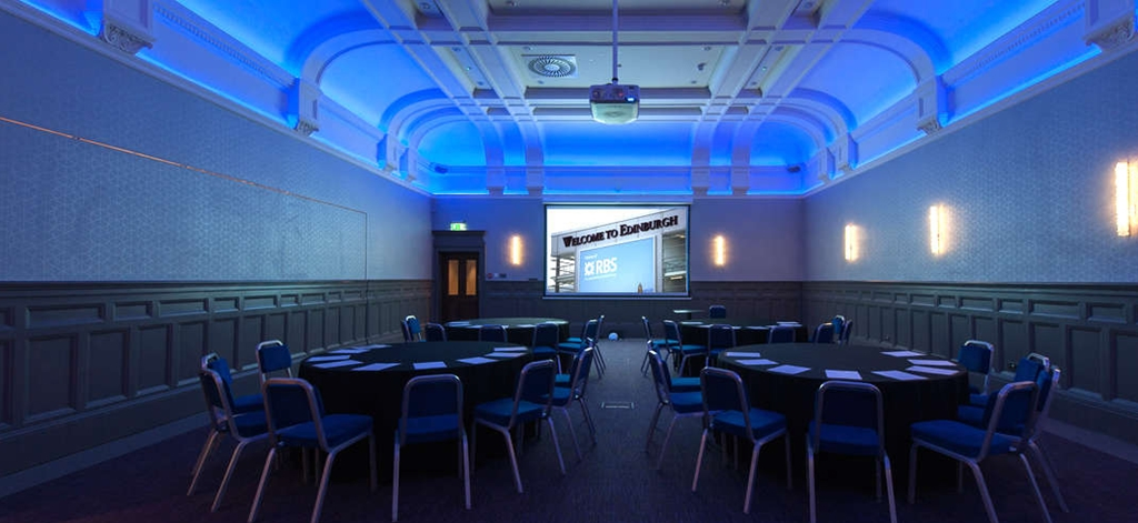 The Broughton Suite is perfect for conferences up to 160 (Cabaret Style)