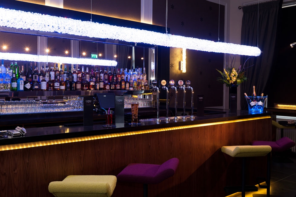 With a large range of drinks our cocktail bar and lounge areas are always open to the public.