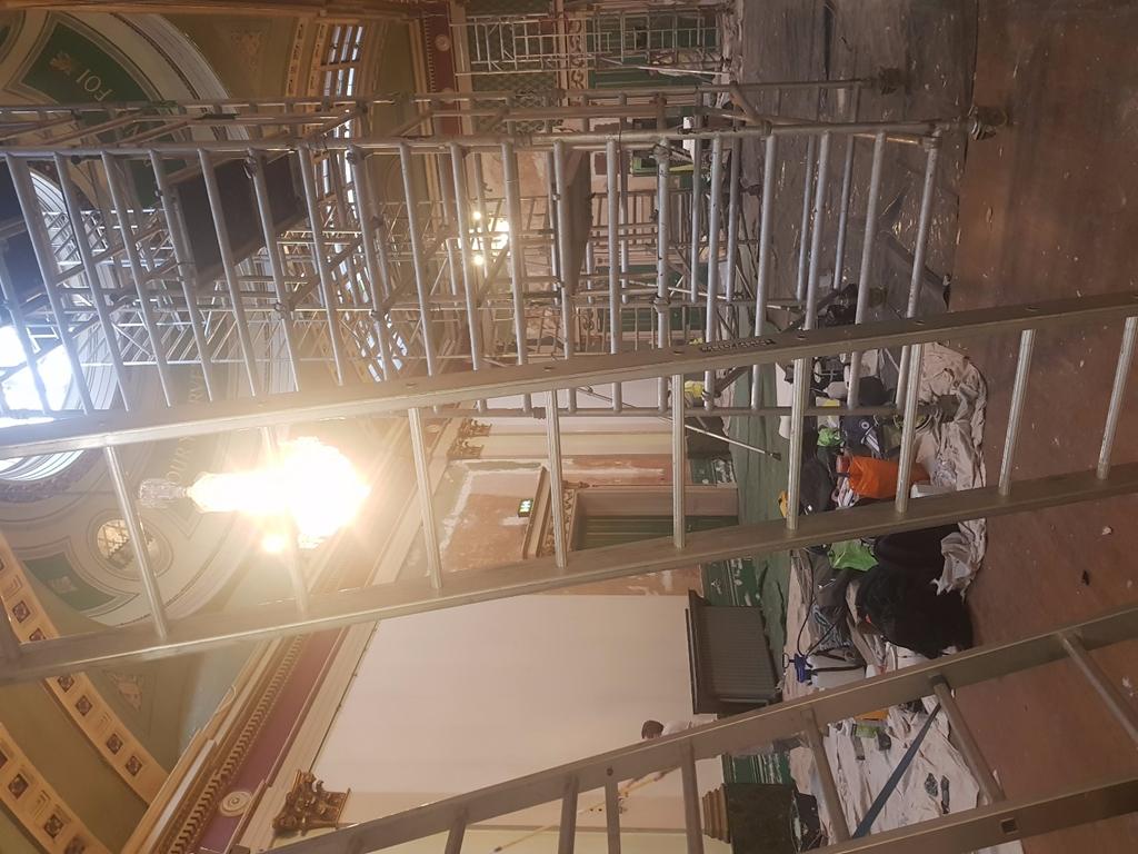Old Banqueting Hall - During Refurbishment