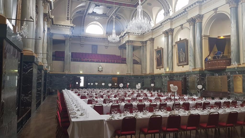Sheffield & Leeds OTC Dinner - Main Hall
