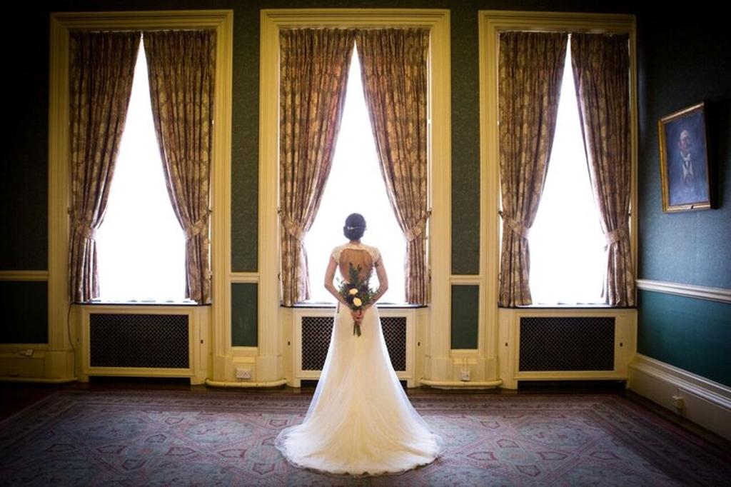 Bride in Drawing Room