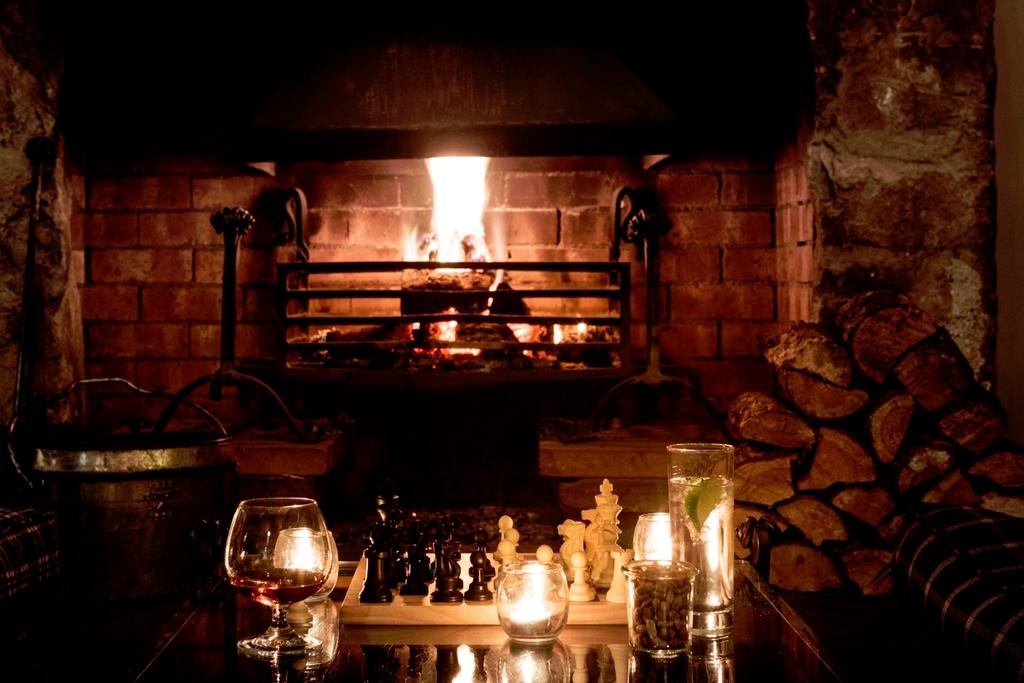 Fire in Lounge